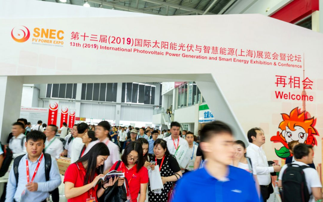 SNEC PV POWER EXPO,  4-6 JUNE 2019